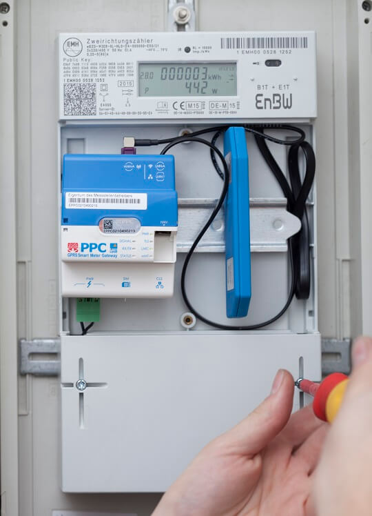 Smart Meter Gateway Installation EnBW