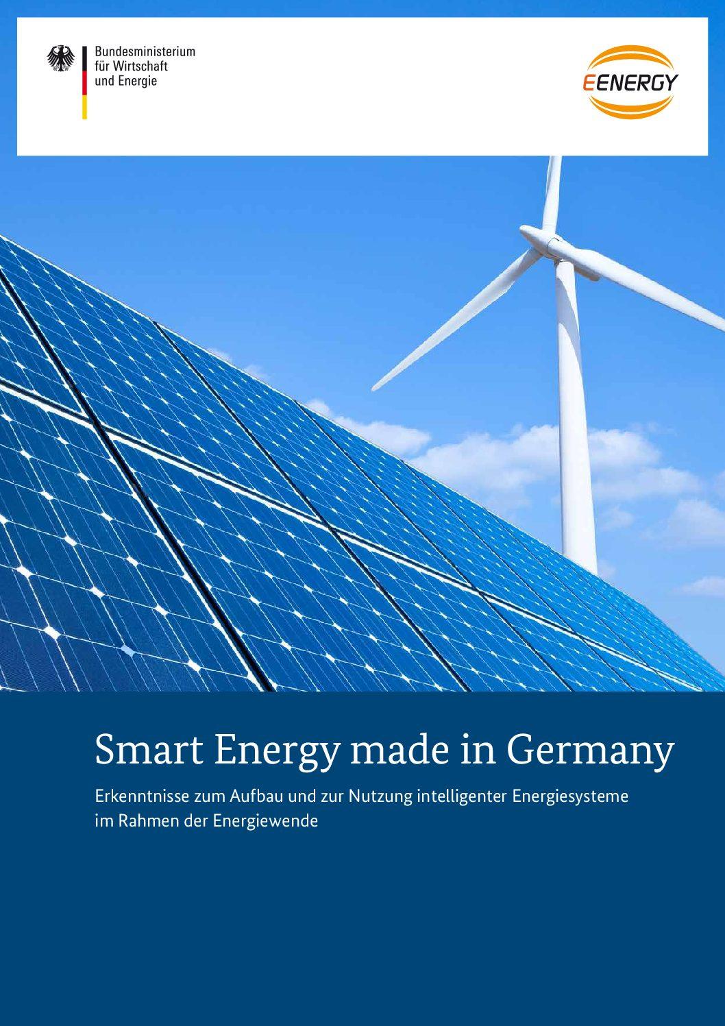 Smart Energy made in Germany E-Energy Abschlussbericht
