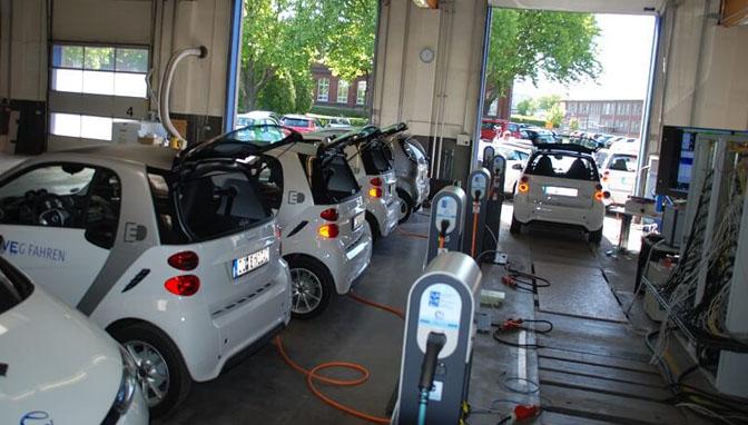 OpenEcosphere Projekt E-Autos