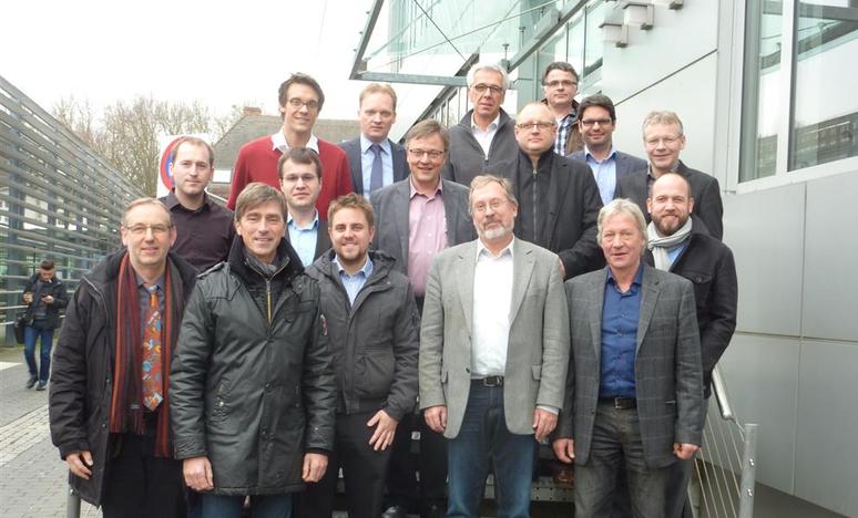 Verteilnetz 2020 CSM Gruppe Projekttreffen