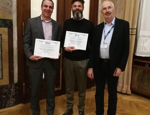 Eugen Mayer recieves Award from IEEE ComSoc